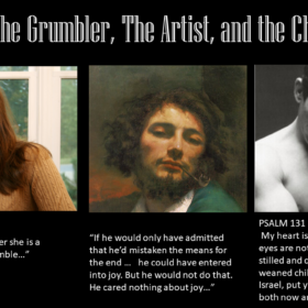 The Great Divorce 06 – The Artist, The Grumbler, and the Child